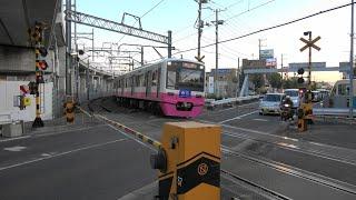 【高架化でなくなる名所】新京成線と国道464号線(船取線)が交差する新鎌ヶ谷2号踏切
