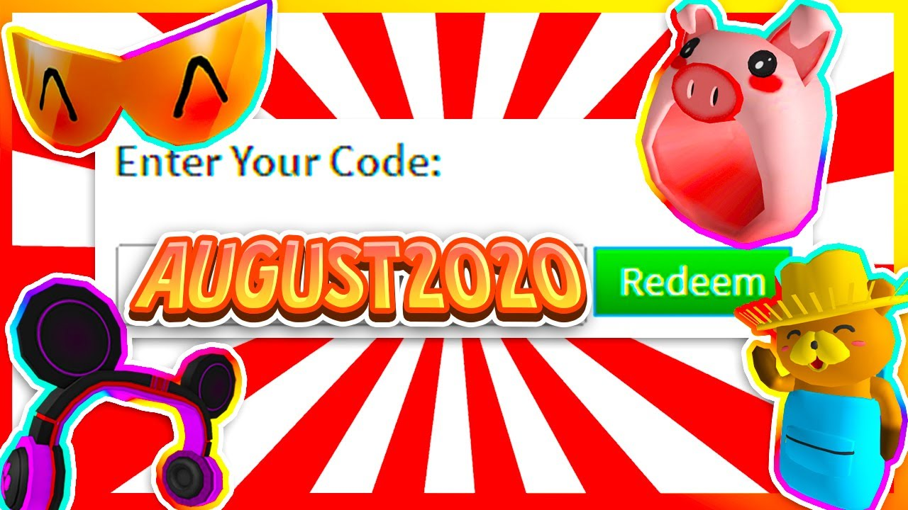 Roblox Codes 2020 August August 2020 New Roblox Promo Codes On Roblox 2020 Secret Roblox Promo Codes Working Youtube