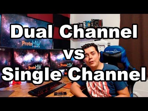 Diferencia entre Dual y Single Channel en RAM ¿Vale la pena?