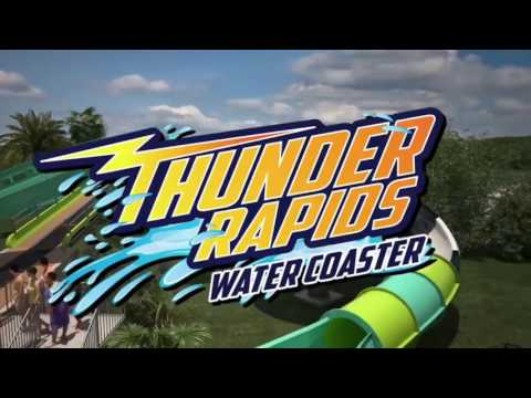 Thunder Rapids Six Flags Fiesta Texas New For 2017
