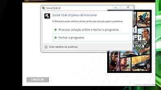 Como tirar o erro do GTA V PC - Social Club