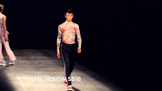 TOPMAN Design SS16 at London Collections Men