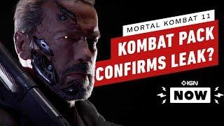 Mortal Kombat 11 DLC Basically Confirms Datamine Leak - IGN Now