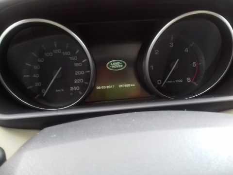 Reset Oleo Range Rover Sport Evock A Partir 2013 Youtube