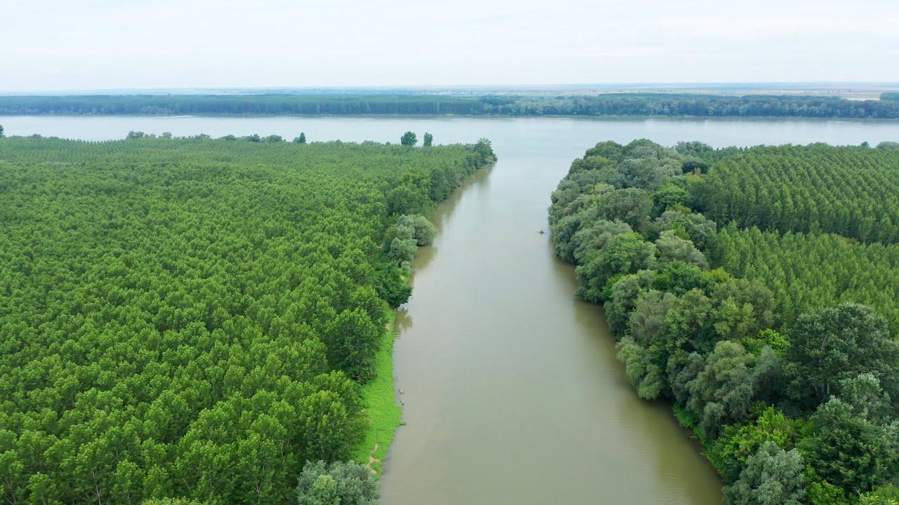 Вливането на река Искър в Дунава - Iskar in Danube - YouTube