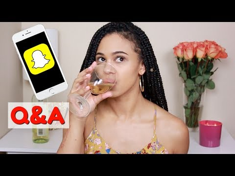 Snap Chat Q&A | My Own Product Line, How I Met My BF + More!!!