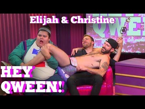 ELIJAH DANIEL & CHRISTINE SYDELKO on HEY QWEEN! With Jonny McGovern