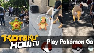 How To Start Playing Pokémon Go