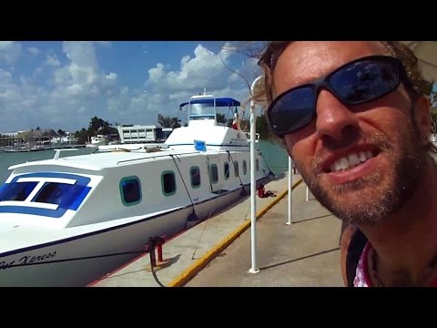 Going From Mexico to Belize Islands by Boat: An Adventure