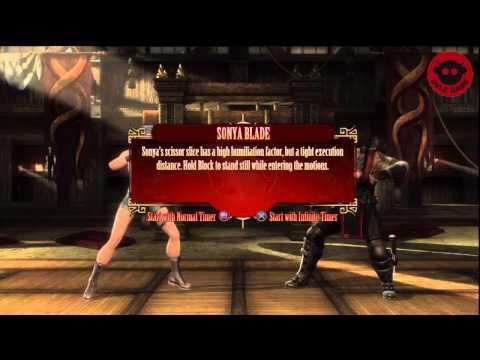 MK9 Fatalities Tutorial Episode:18 Sonya Blade   Hidden Fatality Included