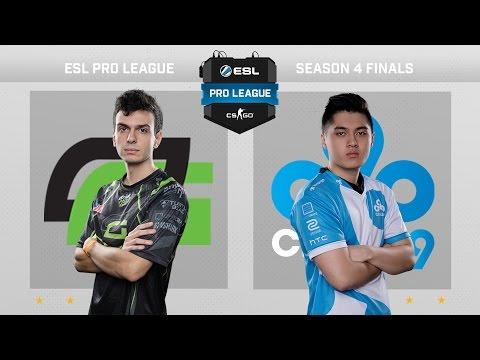 CS:GO - OpTic vs. Cloud9 [Dust2] Map 1 - Quarterfinal - ESL Pro League Season 4 - [2/2]