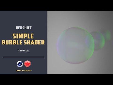 Soap bubble shader using Redshift [CINEMA 4D TUTORIAL] - PakVim net