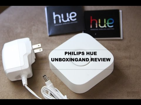 PHILIPS HUE UNBOXING AND REVIEW