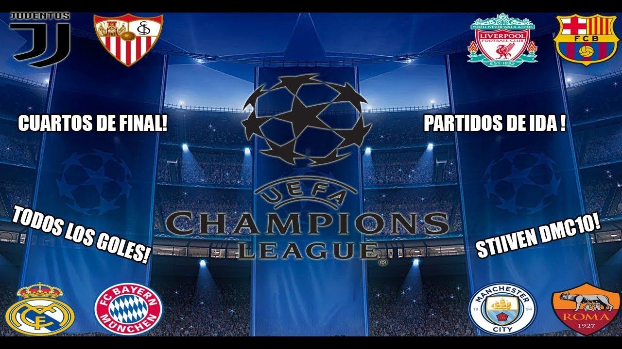 Cuartos de final - IDA - UEFA Champions League 2017/18 - YouTube