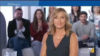 Myrta Merlino intervista Silvio Berlusconi