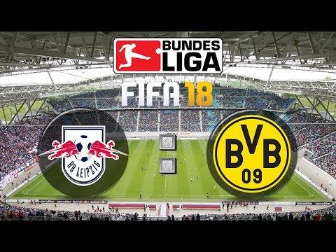 FIFA 18 Bundesliga RB Leipzig : Borussia Dortmund | Gameplay Deutsch Livestream