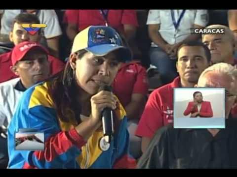 En Contacto con Maduro #51, parte 12/17, Consejo Presidencial de la Mujer, habla Anyelis González