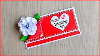 Friendship day card ideas / Friendship day card making very easy / How to make friendship day card