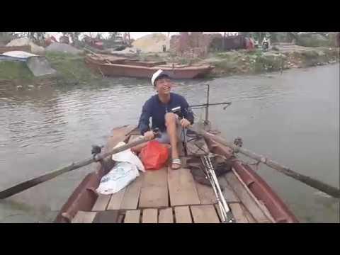 [Travelling And Fishing In Viet Nam] Chèo thuyền câu sông đầu năm