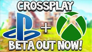 Fortnite Cross Platform Xbox & PS4 - BETA CROSSPLAY OUT NOW PLAYSTATION 4 (Cross Platform Fornite)