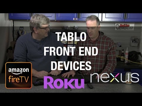 Tablo DVR Front End Options - Cord Cutting and Steaming Video