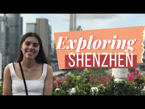 EXPLORING Shenzen & GRADUATING Chinese School | Shenzhen Travel Vlog (Part 1)