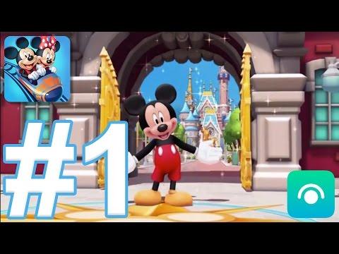 Disney Magic Kingdoms - Gameplay Walkthrough Part #1 - Level 1-9 (iOS, Android)