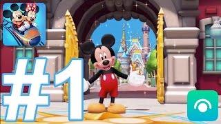 Disney Magic Kingdoms - Gameplay Walkthrough Part #1 - Level 1-9  Ios, Android