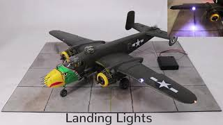 Magic Scale Modeling - HK MOdels B-25 Mitchell + Sound
