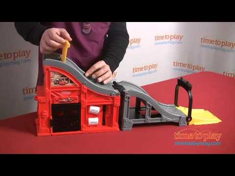Cars Speed 'N Sounds Race Track From Fisher-Price