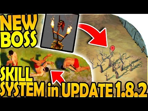 NEW BOSS in INFECTED FOREST - SKILL SYSTEM in UPDATE 1.8.2 - Last Day On Earth Survival Update 1.8.1