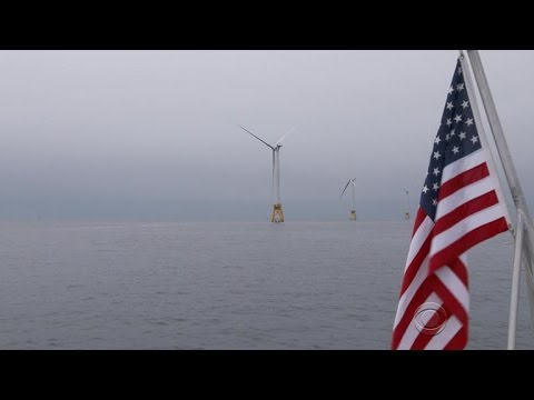 Offshore Rhode Island wind farm is nation's first, powering small island