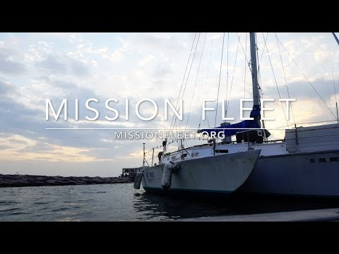 Living aboard our Trimaran Ep. 01 -  Mission Fleet