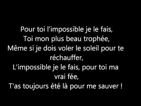 Soprano - Je Serai Là - ParolesMusic
