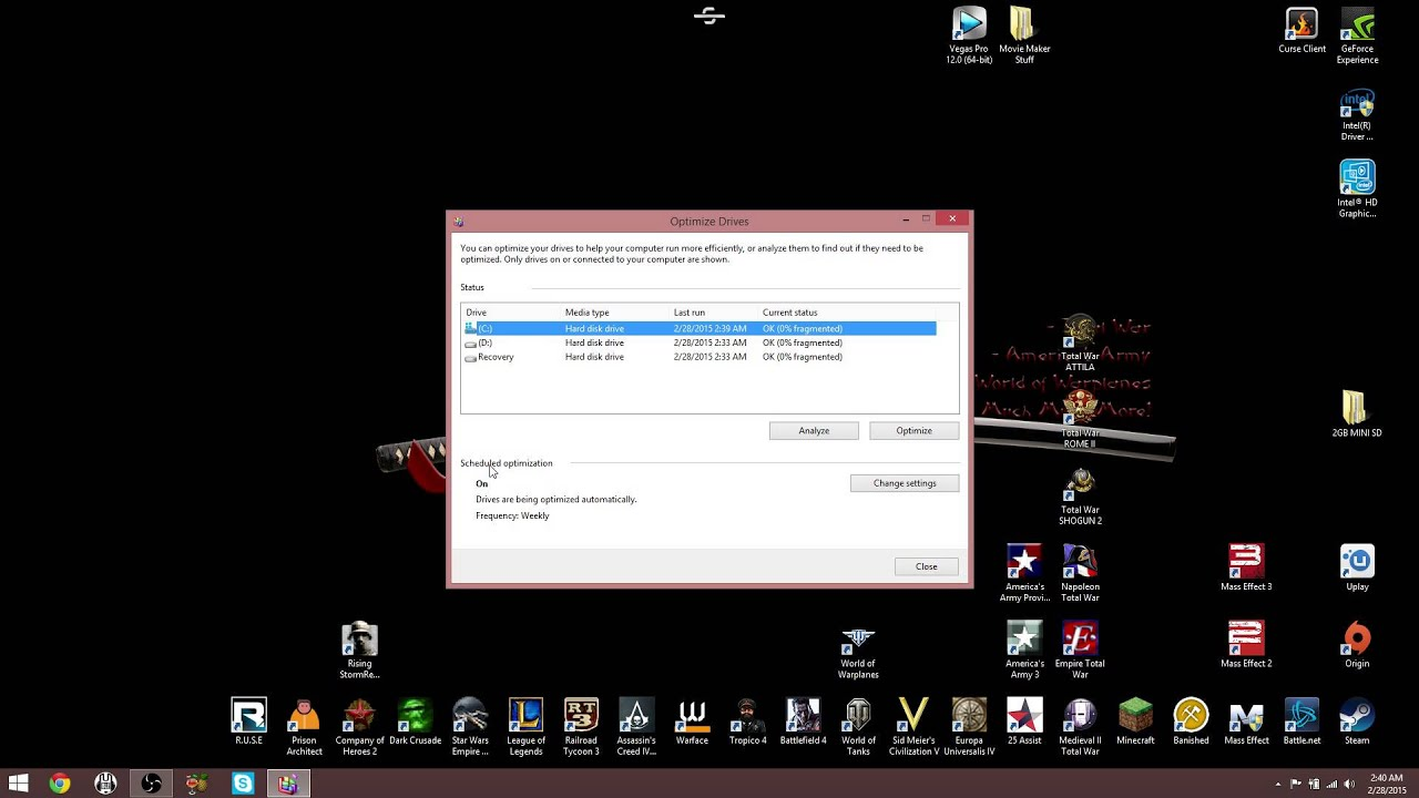 How To Defrag Windows 8.1 - YouTube