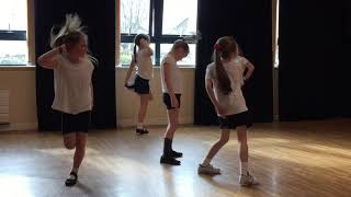 St. Cuthberts at the Catholic School Dance Workshop