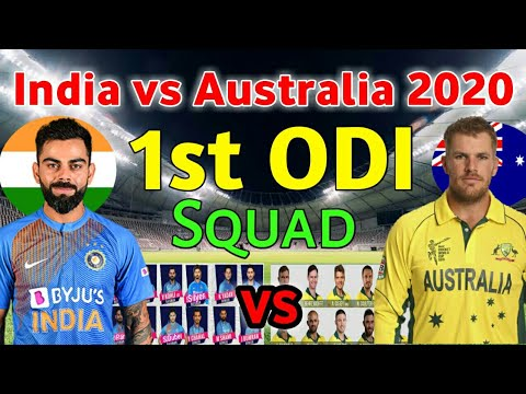 India Vs Australia ODI Series 2020 | India Team Vs Australia | Ind Vs Aus 2020