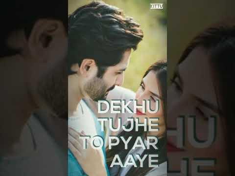Dekhu Tujhe To Pyar Aaye Whatsapp Status/ Full Screen Status /whatsapp Status  ♥️💜💙💚