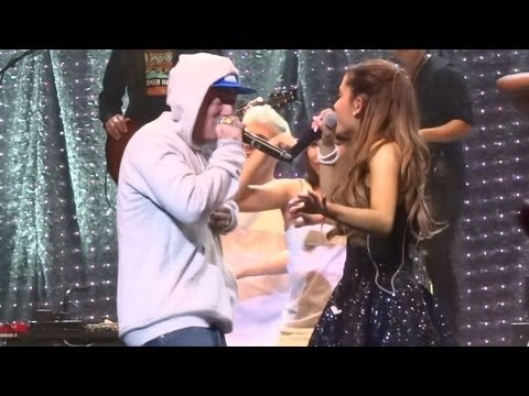 """Ariana Grande - """"The Way"""" [Feat. Mac Miller] (Live In Los Angeles 9-9-13)"""