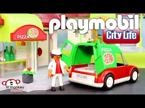 Playmobil City Life Store / Shop Collection!  Pizzeria, Pet Store, Fast Food Restaurant and More!!