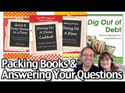 Packing Books And Answering Your Questions