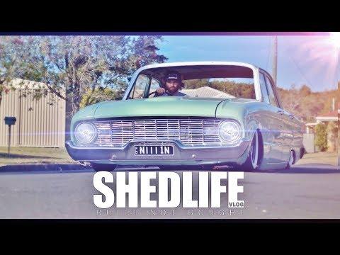 Bagged XK Falcon - SHEDLIFE episode