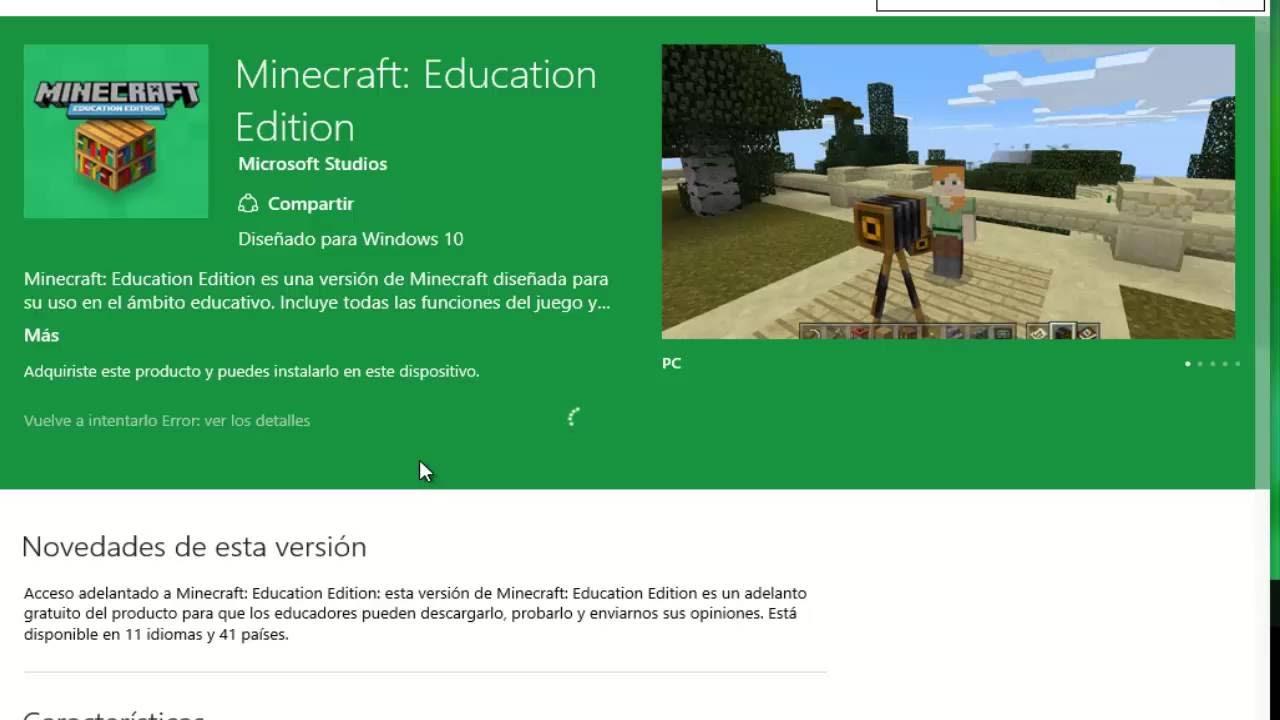 COMO DESCARGAR MINECRAFT EDUCATION EDITION – …