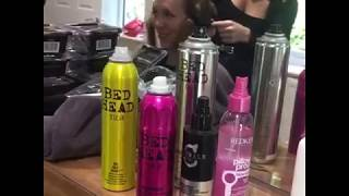 Bridal party - La Belle Hair Salon hair & makeup at Brookfield Barn