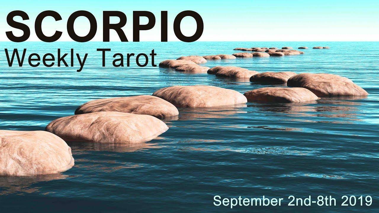 scorpio weekly 22 to 28 tarot reading march 2020