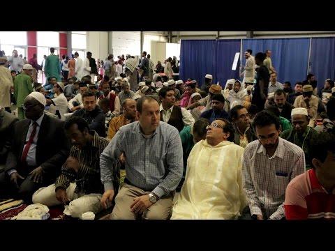 Vermont Muslim Praying Eid 2015