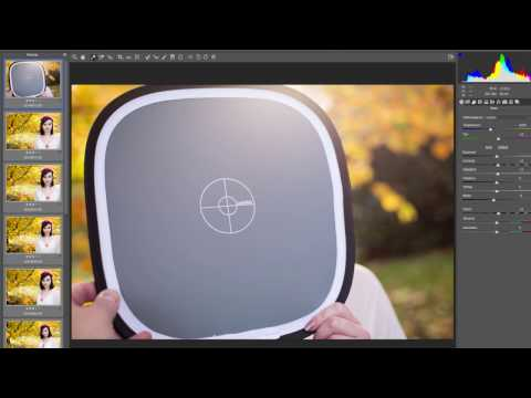 How To Use The Lastolite By Manfrotto EzyBalance Grey Card For Colour Correction