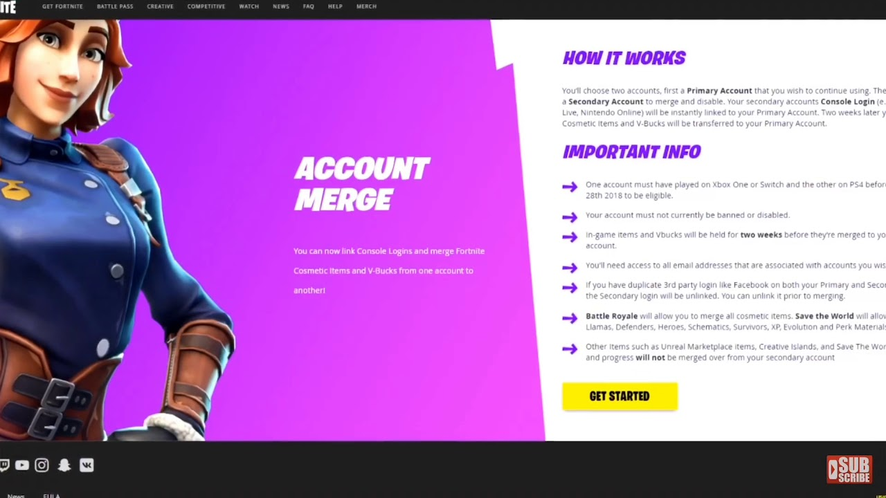 Fortnite Account Merging Finally Out ( 2019 Updated ...