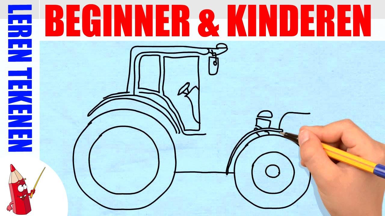 bouwvoertuigen tekenen 1 in 80s leren tekenen voor