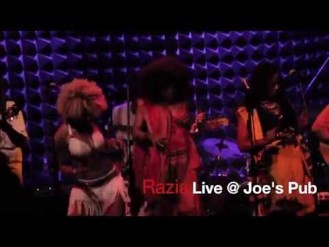 What Now? Razia performs at Joe's Pub NYC